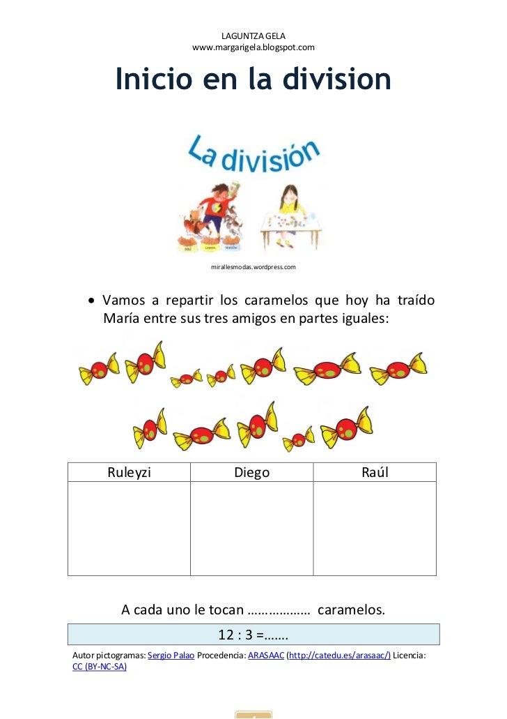 LAGUNTZA GELA                              www.margarigela.blogspot.com          Inicio en la division                    ...