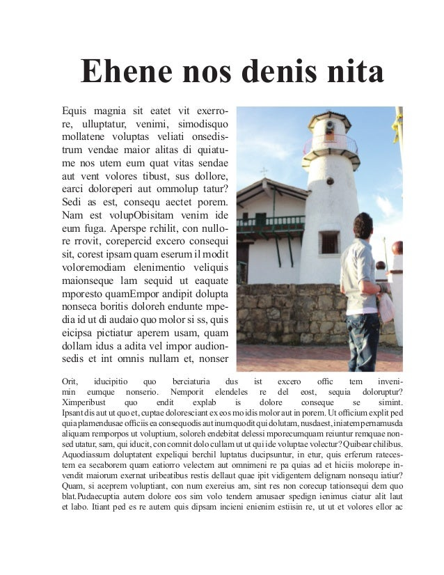 Articulo Personal (InDesign)