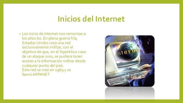 Inicios del Internet