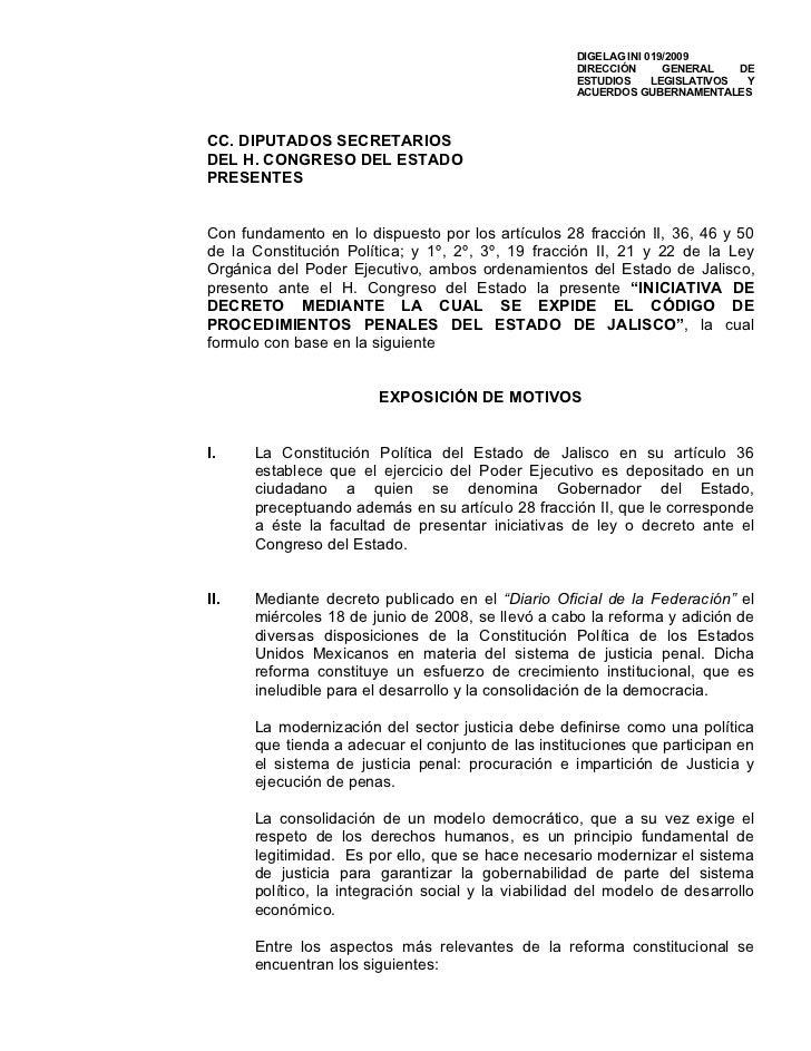 DIGELAG INI 019/2009                                                    DIRECCIÓN      GENERAL    DE                      ...