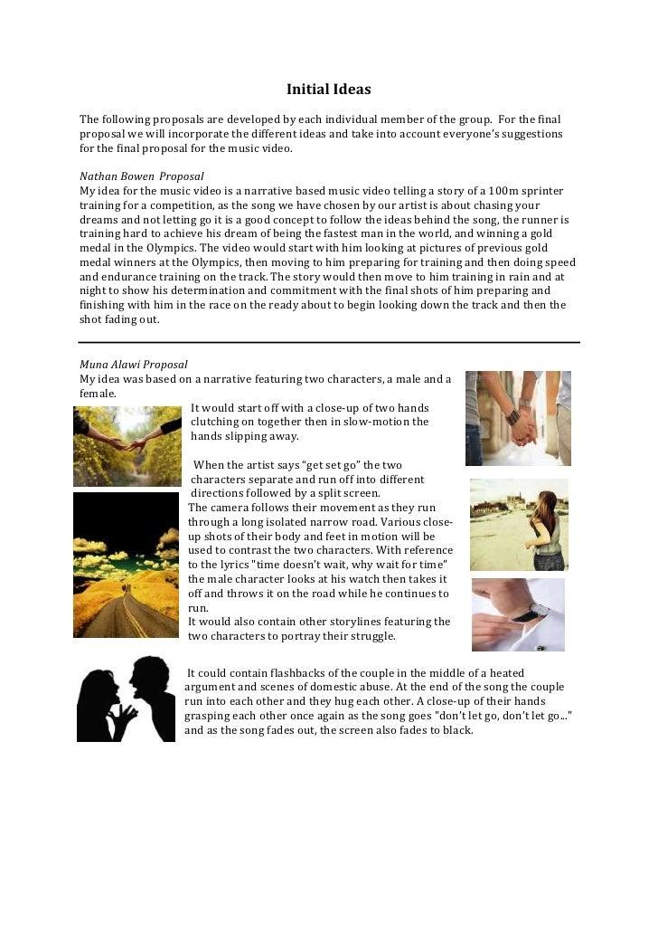 Initial ideas blog