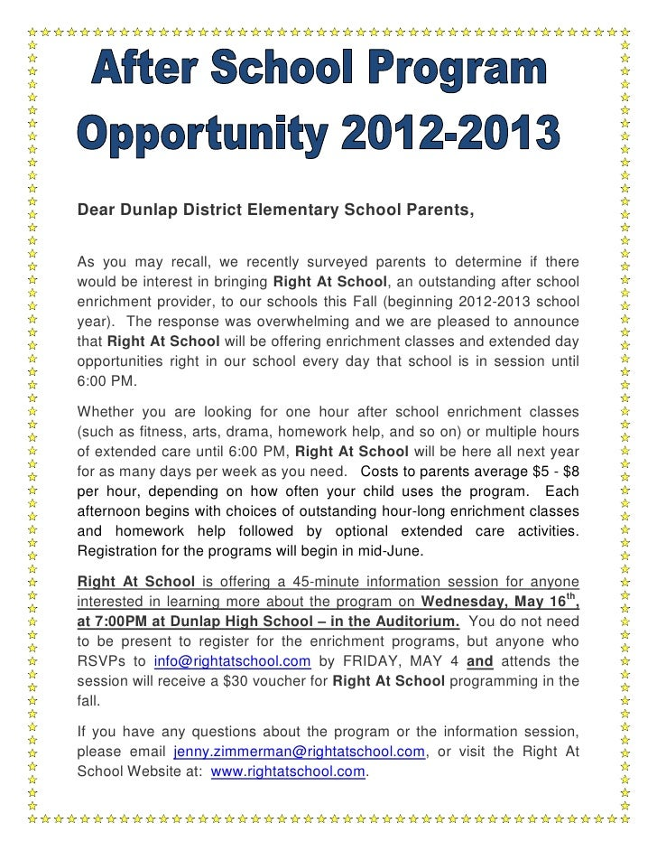 Dear Dunlap District Elementary School Parents,As you may recall, we recently surveyed parents to determine if therewould ...