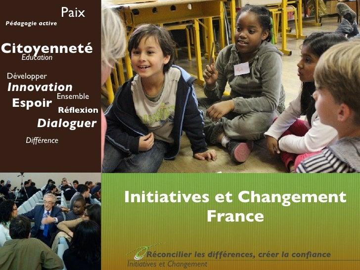 PaixPédagogie activeCitoyenneté   EducationDévelopperInnovation        Ensemble Espoir Réflexion         Dialoguer      Dif...