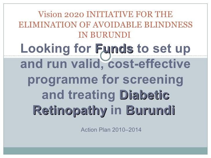 diabetic retinopathy in Burundi