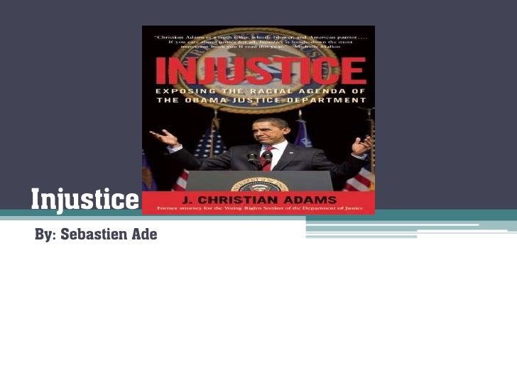 Injustice(sebastien)