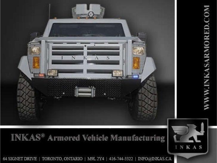 Inkas Armored Vehicle Manufacturing