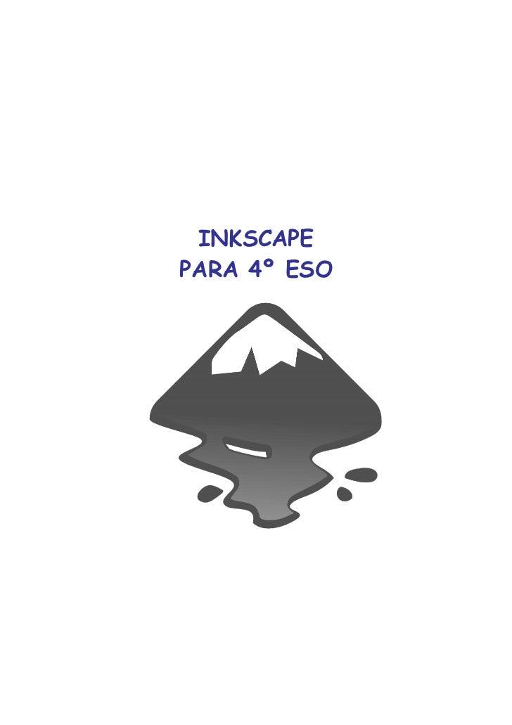 INKSCAPEPARA 4º ESO