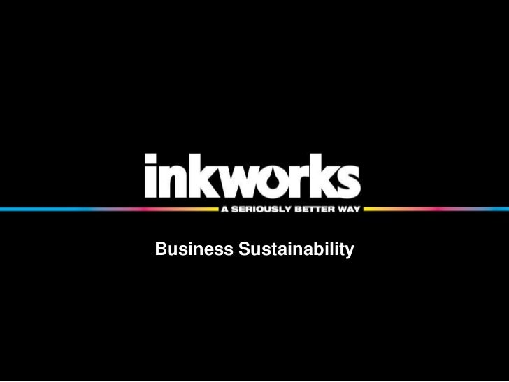 Business Sustainability<br />
