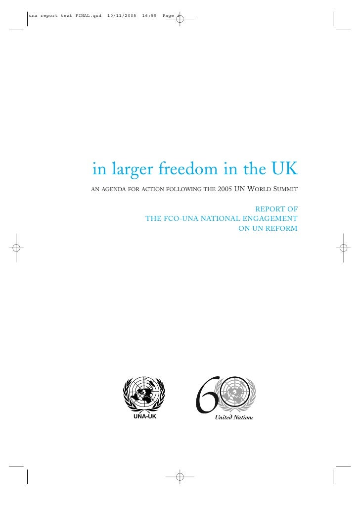 In larger freedom in the UK