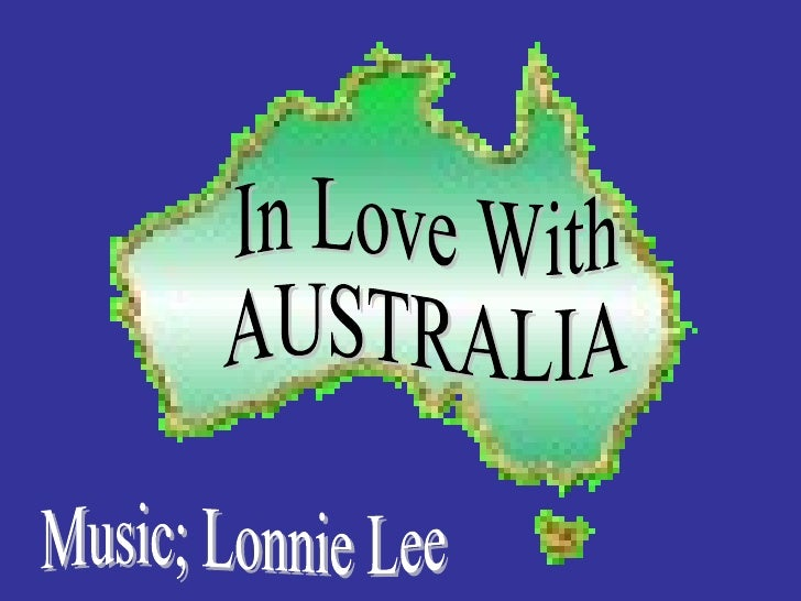 In Love With AUSTRALIA Music; Lonnie Lee