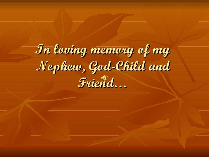 In Loving Memory Of Eric Leduc