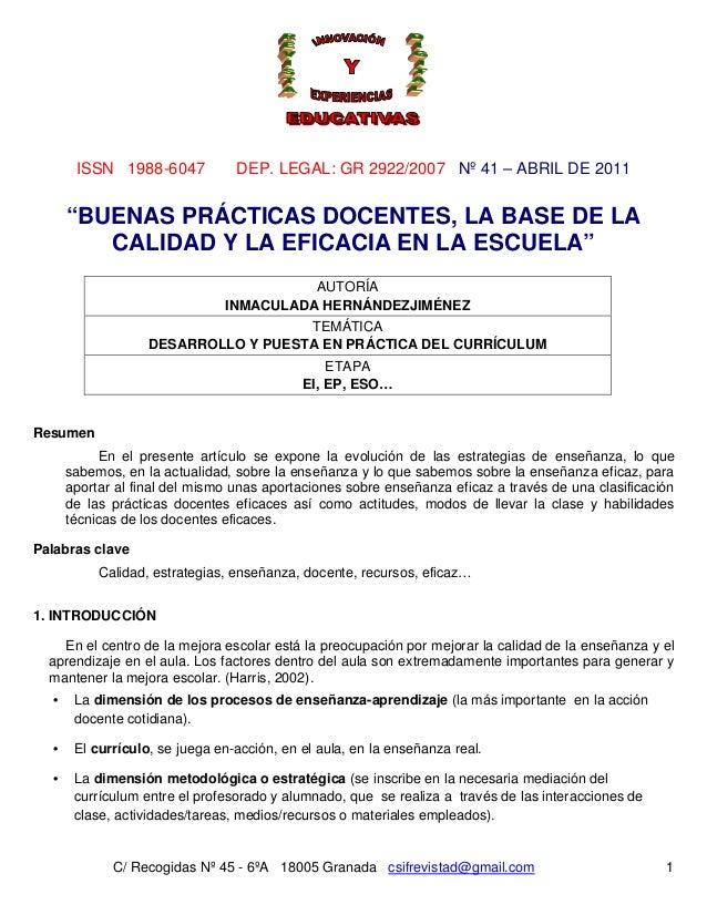 Nº 41 – ABRIL DE 2011 C/ Recogidas Nº 45 - 6ºA 18005 Granada csifrevistad@gmail.com ISSN 1988-6047 DEP. LEGAL: GR 2922/200...