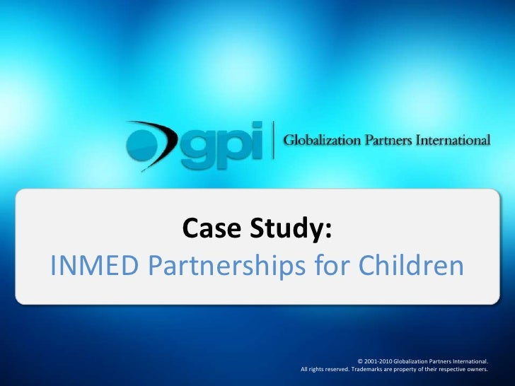 Case Study: INMED Partnerships for Children<br />