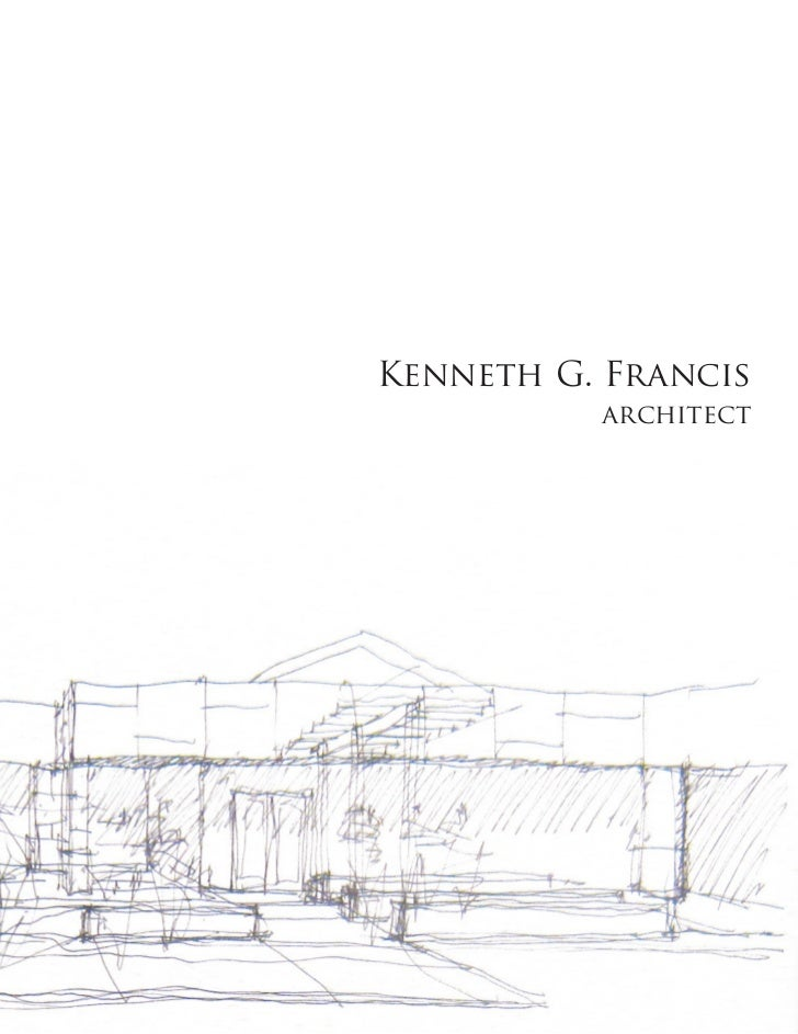 Kenneth G. Francis          architect