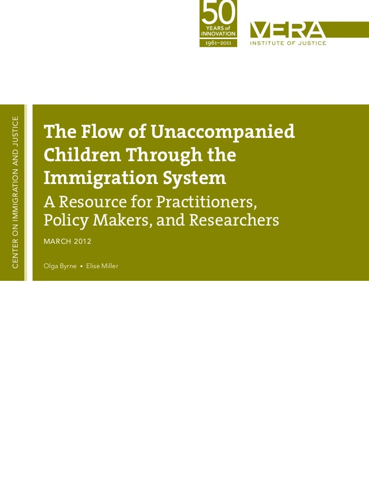 CENTER ON IMMIGRATION AND JUSTICE                                    The Flow of Unaccompanied                            ...