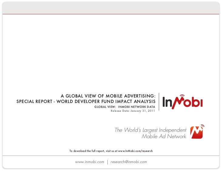How iPhone and Android are taking over the world - InMobi WDF Analysis