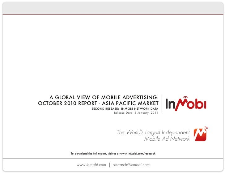 Latest InMobi research finds smartphones impression growth outpacing advanced phones 3 to 1