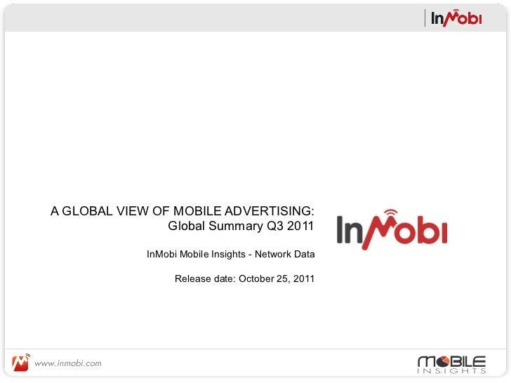 Q3 2011 - Global Report