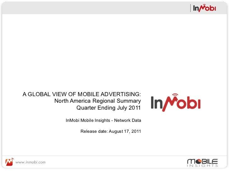QE July 2011 - North America Region Report