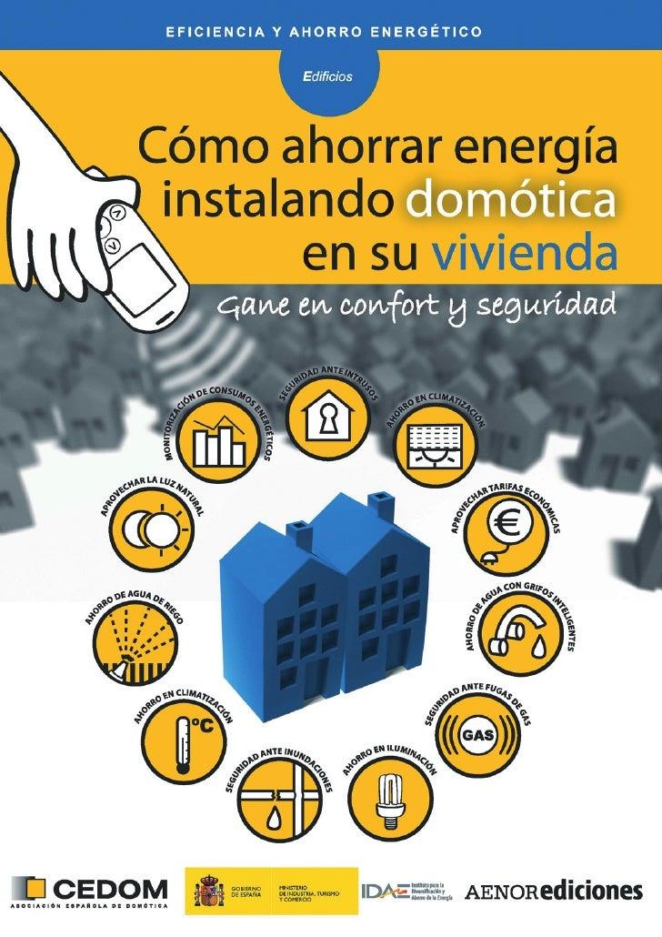 Cómo ahorrar energía instalando domótica en su vivienda