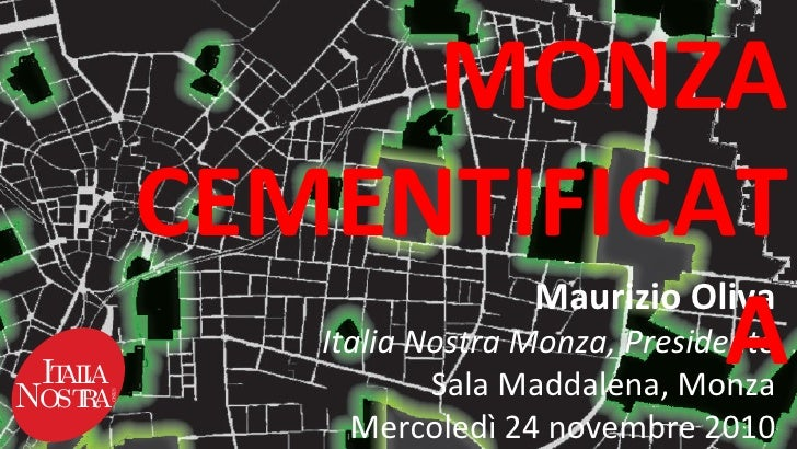 Monza cementificata