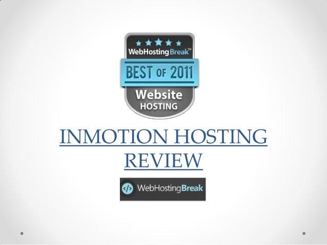 Inmotion Hosting, Inmotion Review, Inmotion Reviews