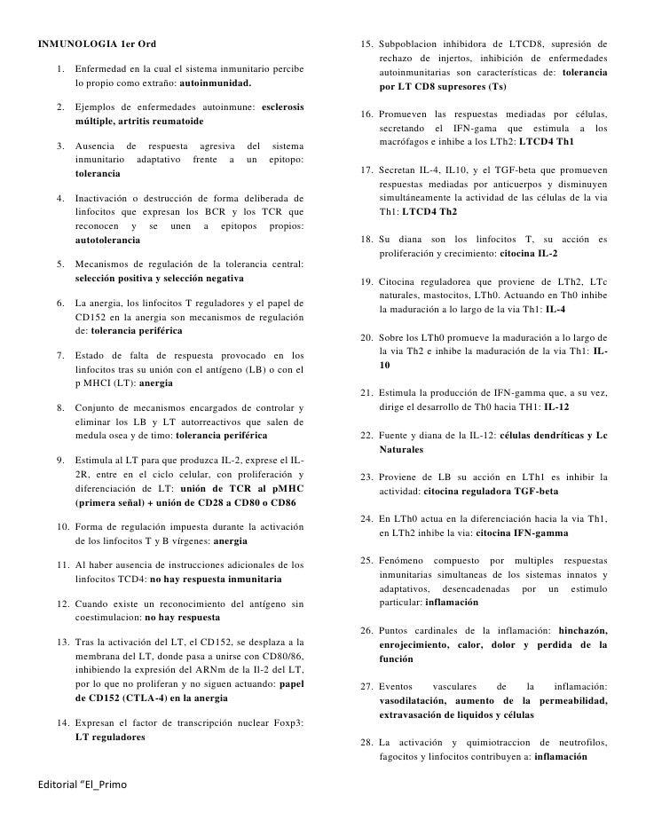 Inmunologia 1er Ord