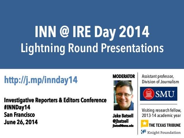 #INNDay14 - Texas Tribune