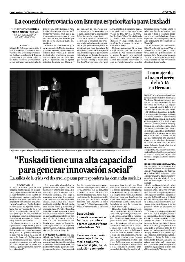Innovación Social en Euskadi