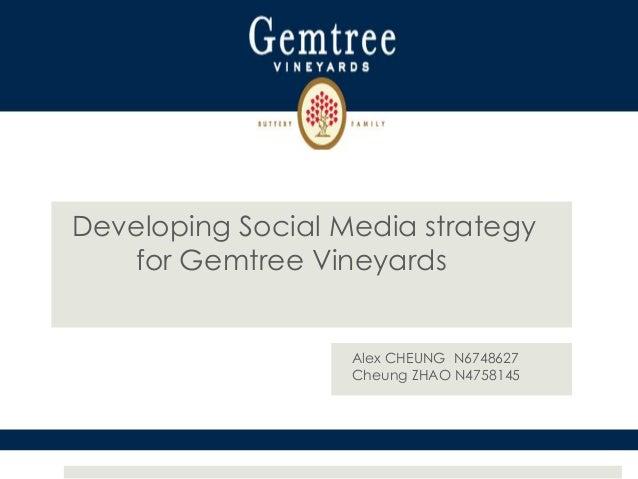 Inn530   developing social media strategy for gemtree