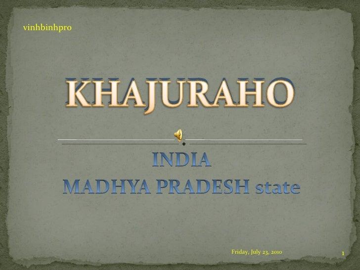 Inndia Khajuraho(New)