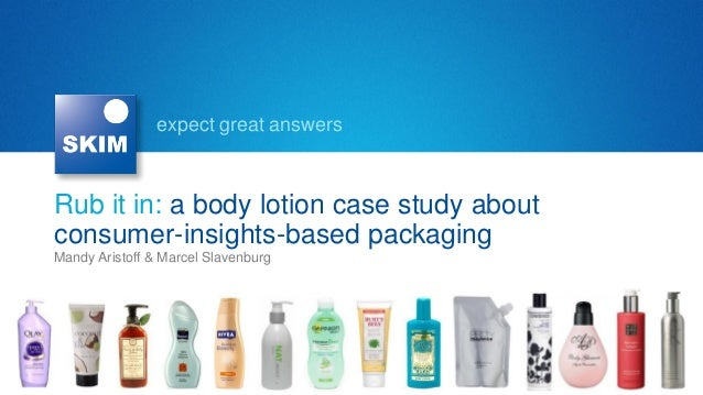 InnoCos Pack 2012: A body lotion case study about consumer-insights-based packaging