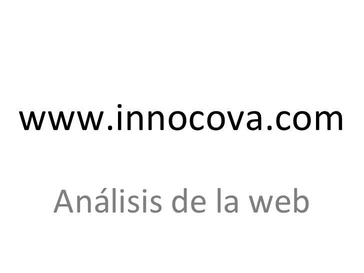 www.innocova.com Análisis de la web