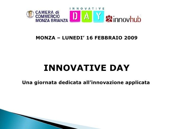 Innoday Monza2009