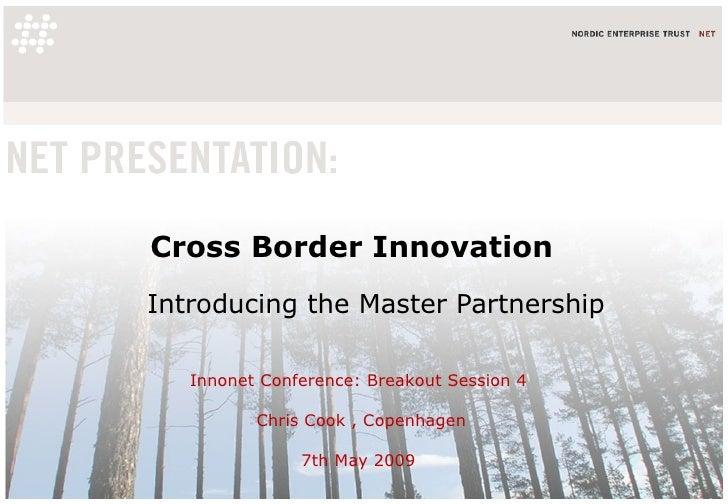 Cross Border Innovation - Master Partnerships