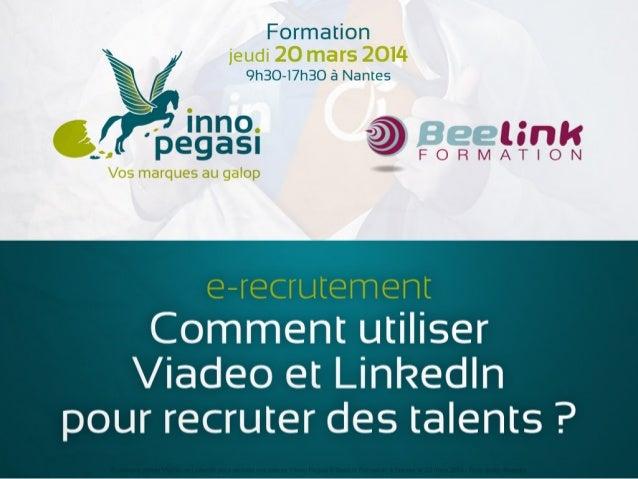 E-recrutement : comment utiliser Viadeo et LinkedIn pour recruter vos talents ?