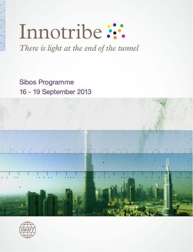 Innotribe@Sibos Dubai - Full Programme