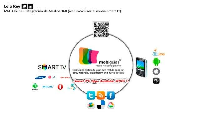 Plataforma Marketing Online Móvil - Smart tv