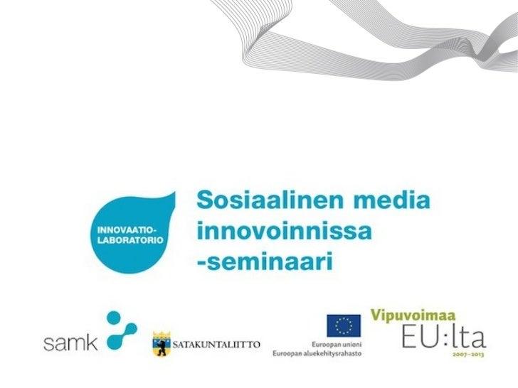Innovaatiolaboratorion lyhyt esittely