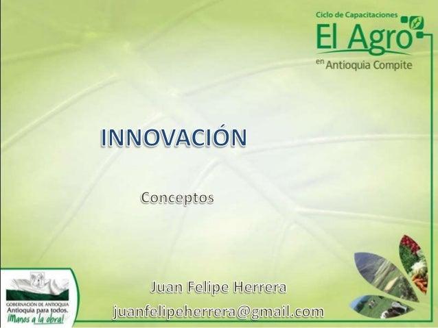 Innovación - Conceptos