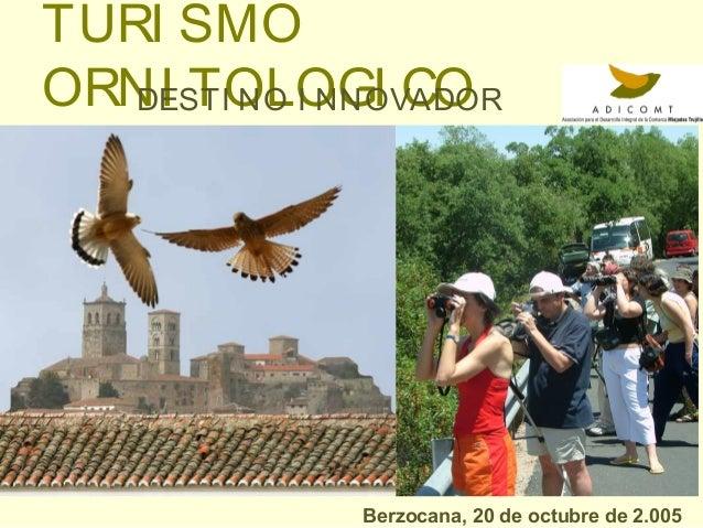 Turismo Ornitológico: Destino Innovador