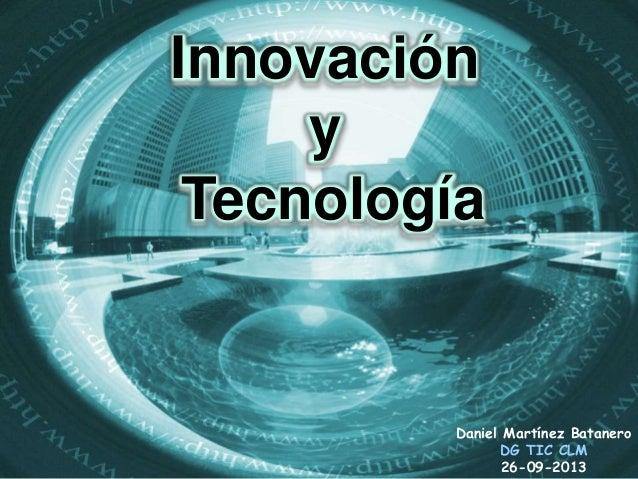 InnovaciónTEDx AlcarriaSt - Guadalajara, Octubre de 2013