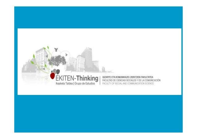 Innovación y Vivienda Master en Gestión de la Innovación y del Conocimiento Bilbao, 3 de noviembre de 2010