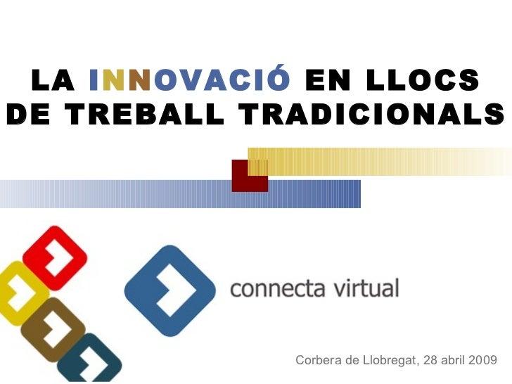 Innovacio llocs tradicionals_corbera