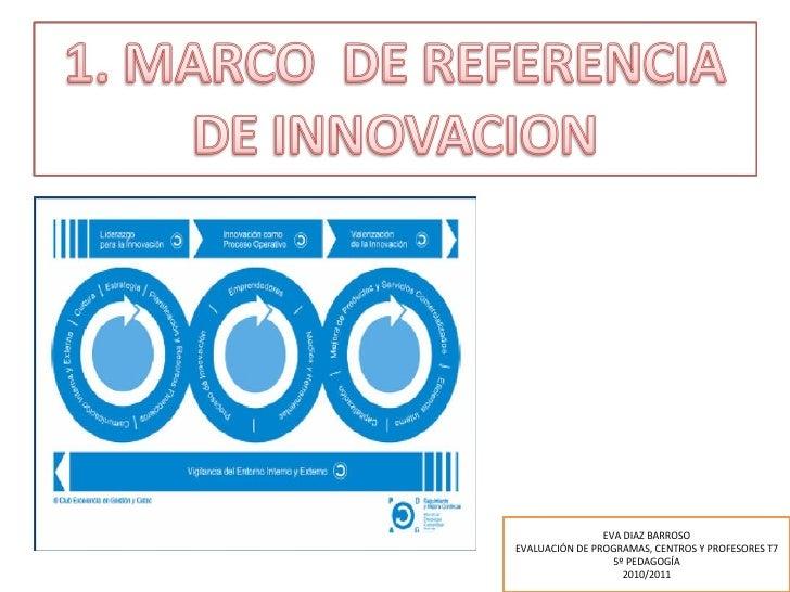 EVA DIAZ BARROSO EVALUACIÓN DE PROGRAMAS, CENTROS Y PROFESORES T7 5º PEDAGOGÍA 2010/2011