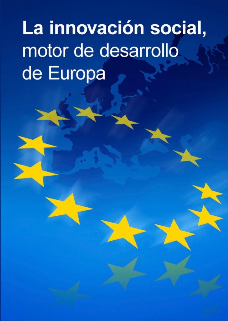 La innovación social,motor de desarrollo de Europa
