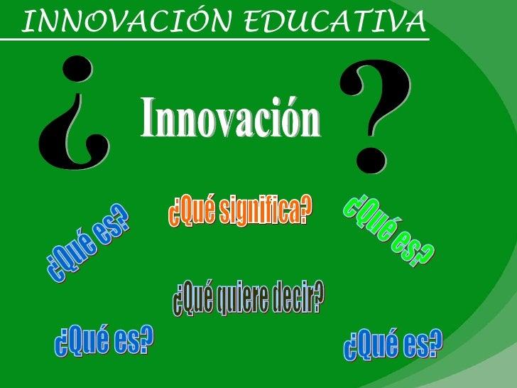Innovacion y-tic