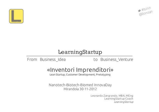 InnovaDay Biotech 2012