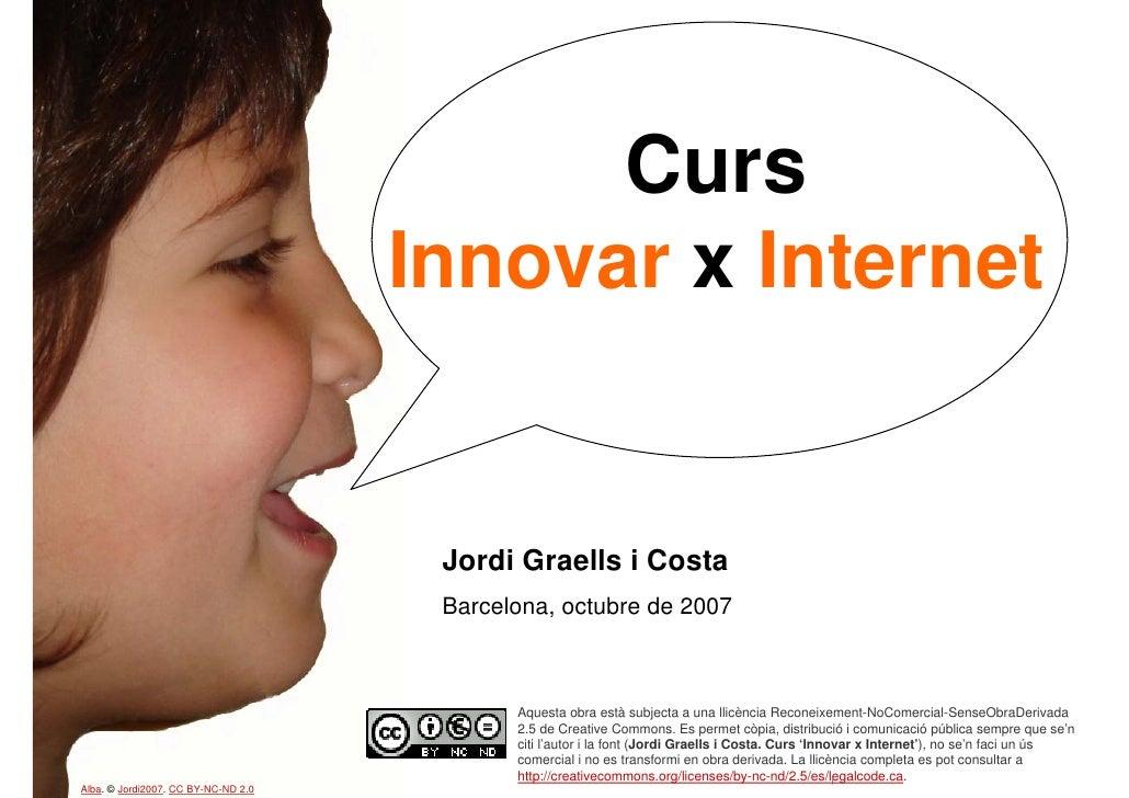 Curs 'Innovar x Internet'. Part 1/4. Eines de comunicació - Communication tools