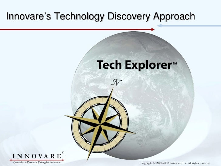 Innovare's Technology Discovery Approach                            Copyright © 2000-2012, Innovare, Inc. All rights reser...